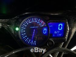 Suzuki GSX-R GSXR 1000 Speedometer Gauge Cluster Tachometer Speedo Tach Blue