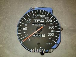 TRD 320 kph Speedometer Supra Series 2 S2 Facelift JZA80 RHD Tacho
