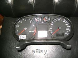 Tacho kombiinstrument audi a3 8l0920900f speedometer tachometer cockpit cluster