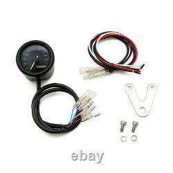 Tachometer/Speedo Digital Daytona Velona 48mm schwarz bis 200 Km/h E geprüft