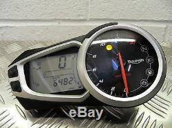Triumph Street Triple 675 Clocks / Speedo / Instrument (6482m) 2013 to 2016