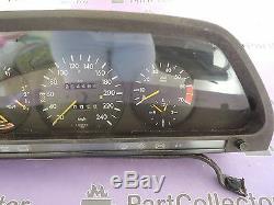 Used Mercedes W126 380sec Tachometer Tacho Speedo Meter Cockpit 5423901 1983