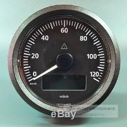 VDO VIEWLINE ELEKTRONISCHER TACHOMETER 125 Km/h 85mm SPEEDOMETER 12/24V