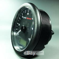 VDO VIEWLINE GPS TACHOMETER SPEEDOMETER GPS SPEED GAUGE 12 KNOTEN 12V 110mm
