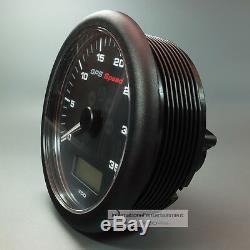 VDO VIEWLINE GPS TACHOMETER SPEEDO LOGGE GPS SPEED GAUGE 35 KN 12V 110mm