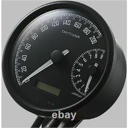VELONA W Digitaler Tacho und Drehzahlmesser DAYTONA digital speedometer and