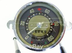 VW Bus T1 Samba Tacho TACHOMETER Speedometer bis 8.60