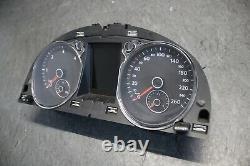 VW Passat 3C B7 2.0 TDI 4 Motion Kombiinstrument Tacho Farbdisplay 3AA920880 C