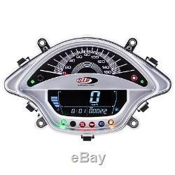 Vespa GTS 125/300 (2014 Onwards) SIP Digital Speedo & Rev Counter White
