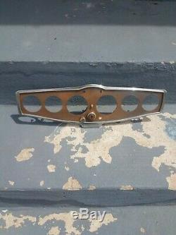 Vintage Gauge Panel Bezel Dash Scta Trog Stewart Warner Pre War Gow Job 1932 33