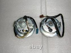 Vintage NOS Rupp Snowmobile speedometer, tachometer set 4pole tach xenoah l/c