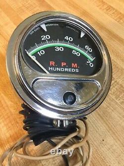 Vintage Nos 7k Sun Tach Tachometer Camaro Gto Mopar Mustang Cuda Muscle Car Era