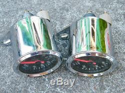 Vintage VDO Speedometer & Tachometer Speedo Tach For BSA Norton Triumph Bikes
