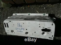 Vw Corrado 2.9 Vr6 Speedo Clocks Dials Instrument Cluster Speedometer 202k