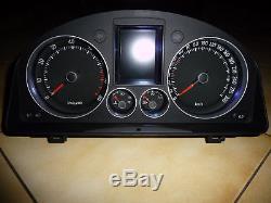 Vw Volkswagen Golf 5 Gti R32 Tacho Speedometer Compteur Full Fis Eu Km/h