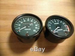 Yamaha RD125DX Clock Set Speedo Speedometer Rev Counter Tachometer