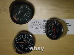 Yamaha RD 50 DX Clock Set Speedo Speedometer Rev Counter Tachometer M