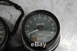 Yamaha Xt500 Tt500 Gauges Meter Speedo Tach 1e6-83570-61-00