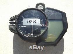 Yamaha Yzfr6 Yzf R6 17-20 Gauges Gauge Speedo Speedometer Cluster 10k Miles